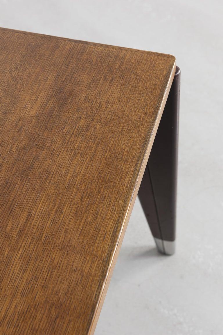 Jean Prouvé, Secrétaire Desk, circa 1950 In Good Condition For Sale In Paris, FR