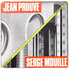 Jean Prouvé Serge Mouille Mid-Century Modern Two Master Metal Workers Book