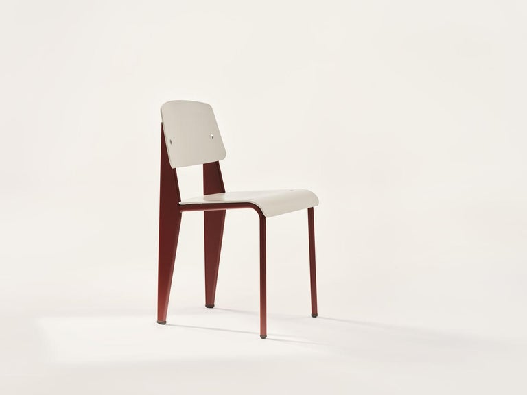Jean Prouvé Standard Chair by Vitra For Sale 10