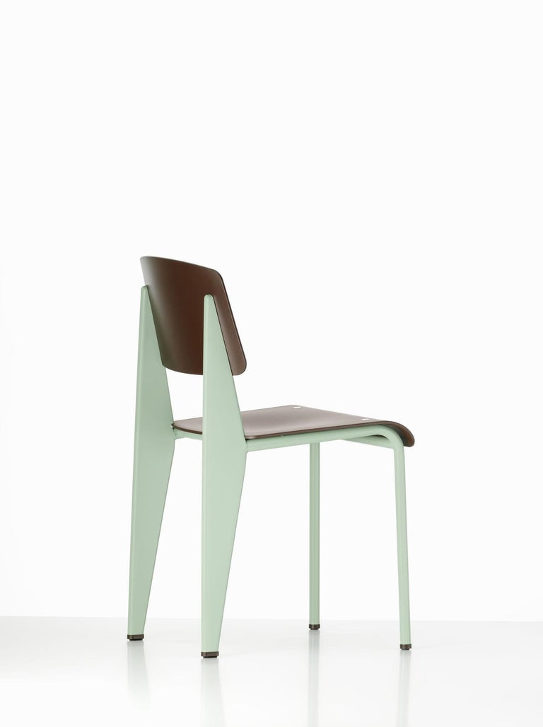 Mid-Century Modern Jean Prouvé Standard Chair by Vitra For Sale