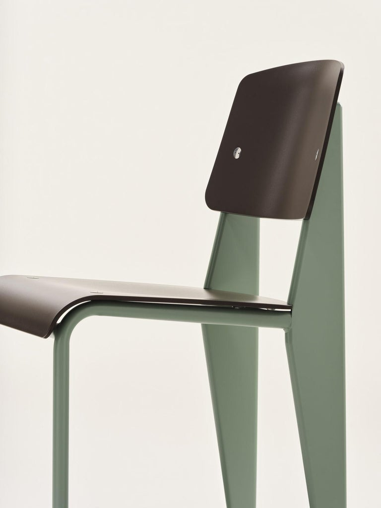 Swiss Jean Prouvé Standard Chair by Vitra For Sale