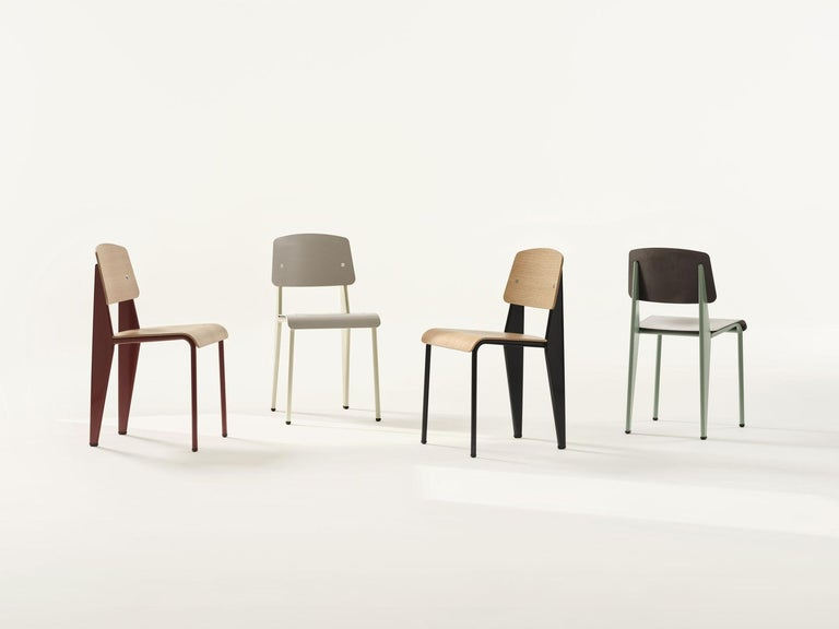 Jean Prouvé Standard Chair by Vitra For Sale 1