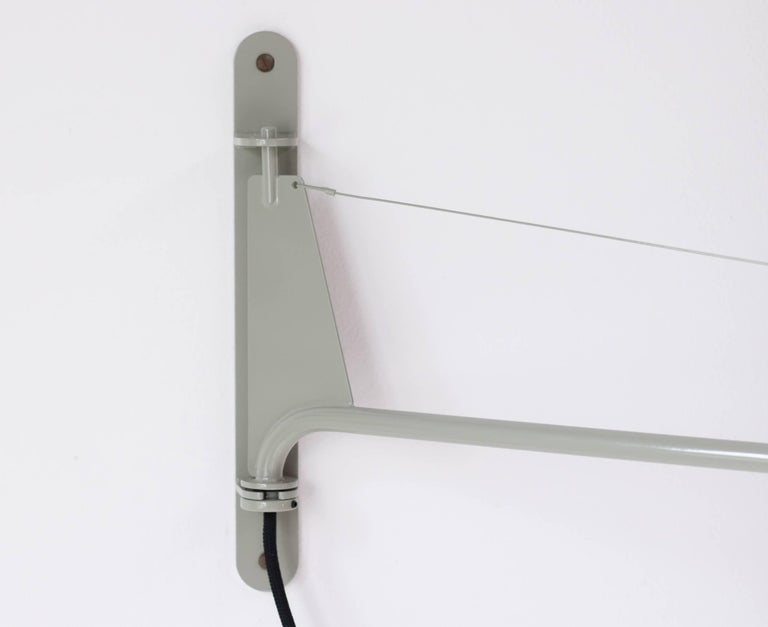 Mid-Century Modern Jean Prouvé Swing Jib Wall Light For Sale