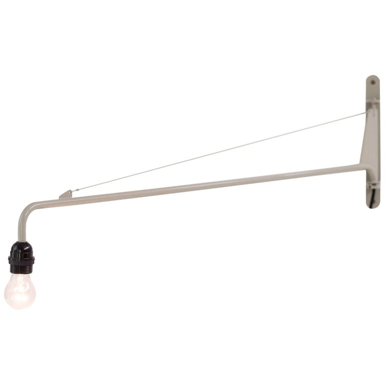Jean Prouvé Swing Jib Wall Light For Sale