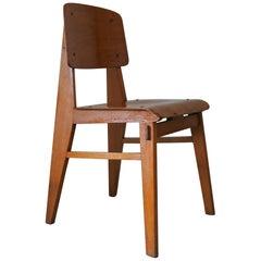 "Jean Prouvé ""Tout Bois"" Chair, France, circa 1941"