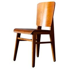 Jean Prouvé Wooden Standard Chair Prototype, 1940s