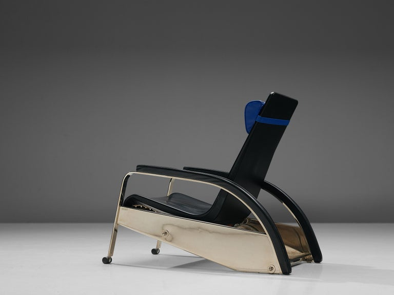 Post-Modern Jean Prouvé Grand Repos Lounge Chair for Tecta For Sale