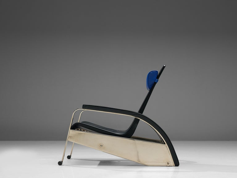 French Jean Prouvé Grand Repos Lounge Chair for Tecta For Sale