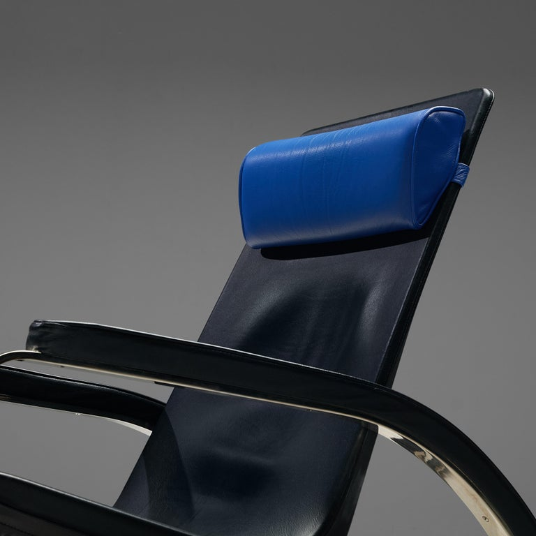 Leather Jean Prouvé Grand Repos Lounge Chair for Tecta For Sale