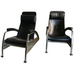 Jean Prove Grand Repos Lounge Chairs