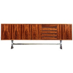 "Jean René Caillette Sideboard ""Silvie"" for Charon, Rosewood"