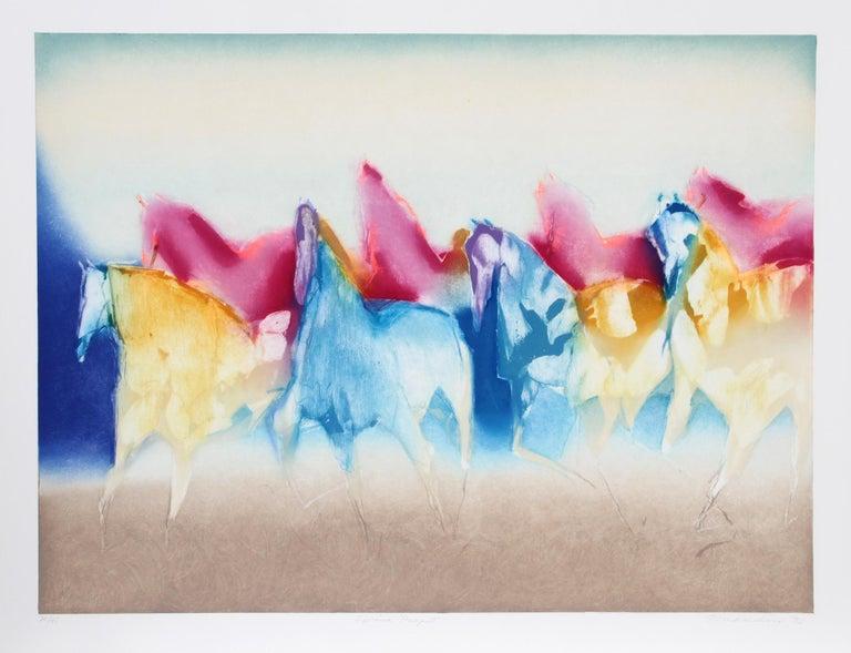 Jean Richardson Animal Print - Spring Pageant