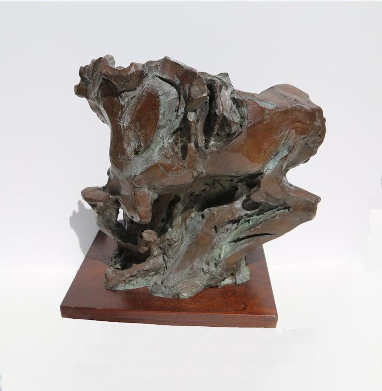 Genesis, Bronze Horse Sculpture by Jean Richardson For Sale 2