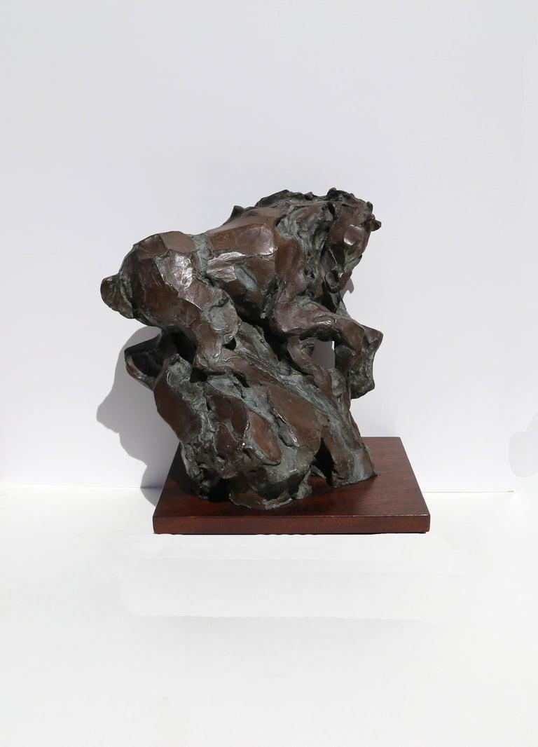 Genesis, Bronze Horse Sculpture by Jean Richardson For Sale 3