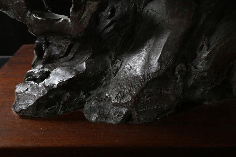 Genesis, Bronze Horse Sculpture by Jean Richardson For Sale 4
