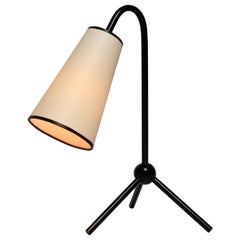 """Jean Royère """"1955"""" Table Lamp in Black"""