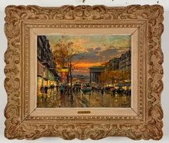 Boulevard des Capucines, Paris by Jean Salabet