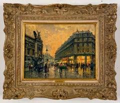 Le Grand Hotel, Paris by Jean Salabet