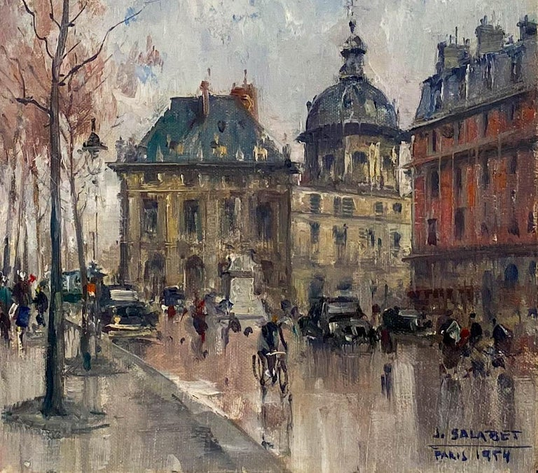 Les Bouquiniste, Paris by Jean Salabet For Sale 2