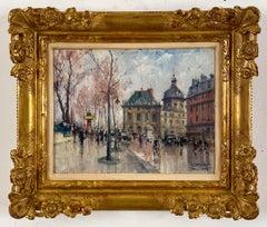 Les Bouquiniste, Paris by Jean Salabet