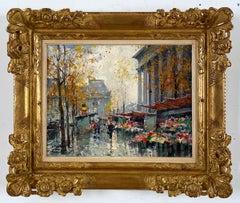 Marche de Fleurs, La Madeleine Paris by Jean Salabet