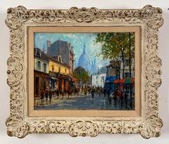 Montmartre, Paris by Jean Salabet