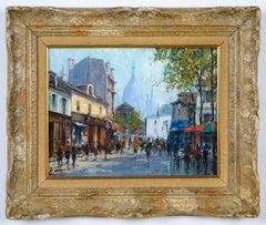 Montmartre -La Place Dutertre,Paris 1952