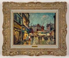 Moulin Rouge, Paris by Jean Salabet