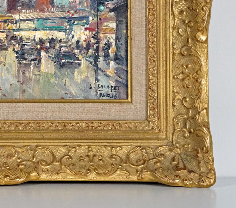 Moulin Rouge Painting by Marcel Dyf For Sale 1