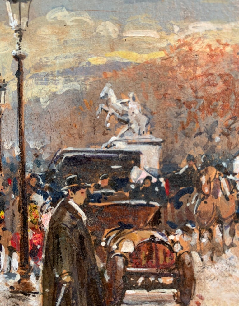 Street Scene in Paris from the 1930 period For Sale 2