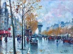 """View of Arc de Triomphe"""