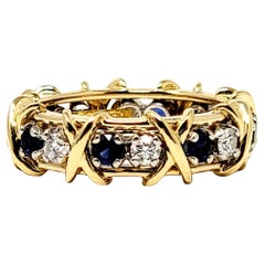 Jean Schlumberger for Tiffany & Co. Diamond and Sapphire Sixteen-Stone