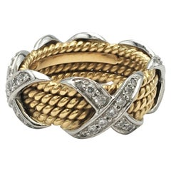 Jean Schlumberger for Tiffany & Co. 'X' Diamond Ring