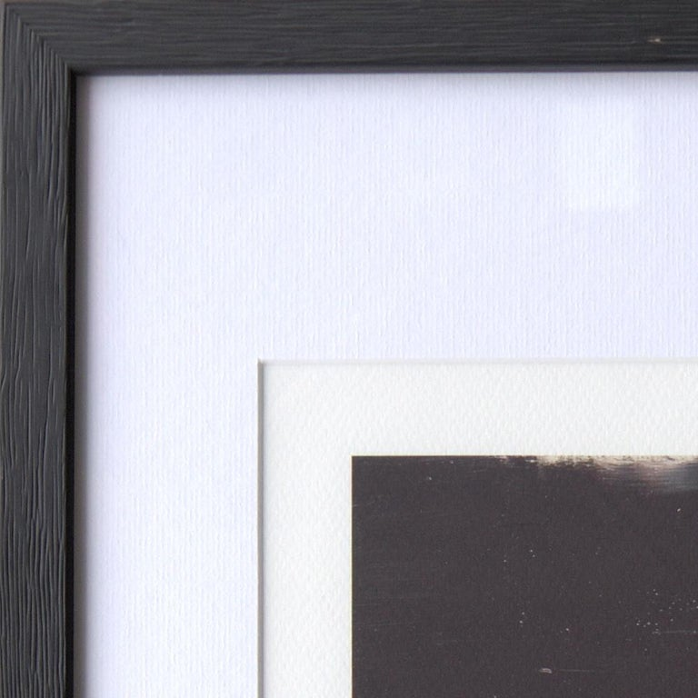 Black, Orange, White and Grey Composition Abstract Fine Art Giclee Print For Sale 11