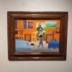 Cousin Zaca, Haitian Art, Silence of the Lambs, Top Haitian Artists, Folk Art