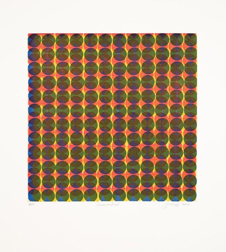 Penumbral - Print by Jean Wolff