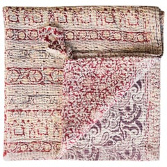 Jeanette Farrier Indian Quilt