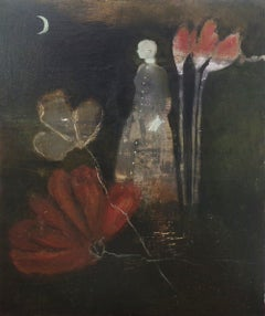Language of the Flowers, protagonist, dog in painting  ,feminine archetypes