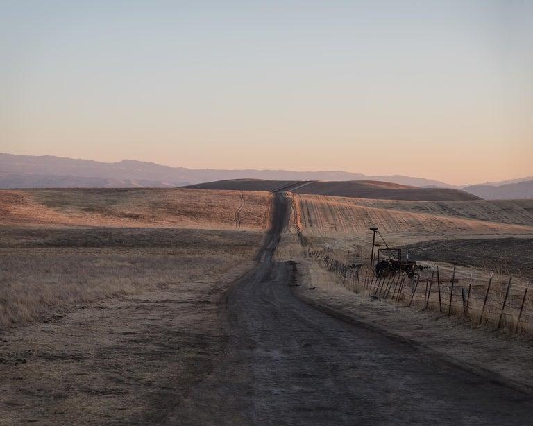 Jeanine Michna-Bales Landscape Photograph - Back to the City. Leaving Phoebe Hearst's Estate, Pleasanton, California