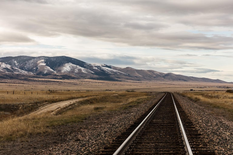Jeanine Michna-Bales Color Photograph - Leaving Helena, Montana