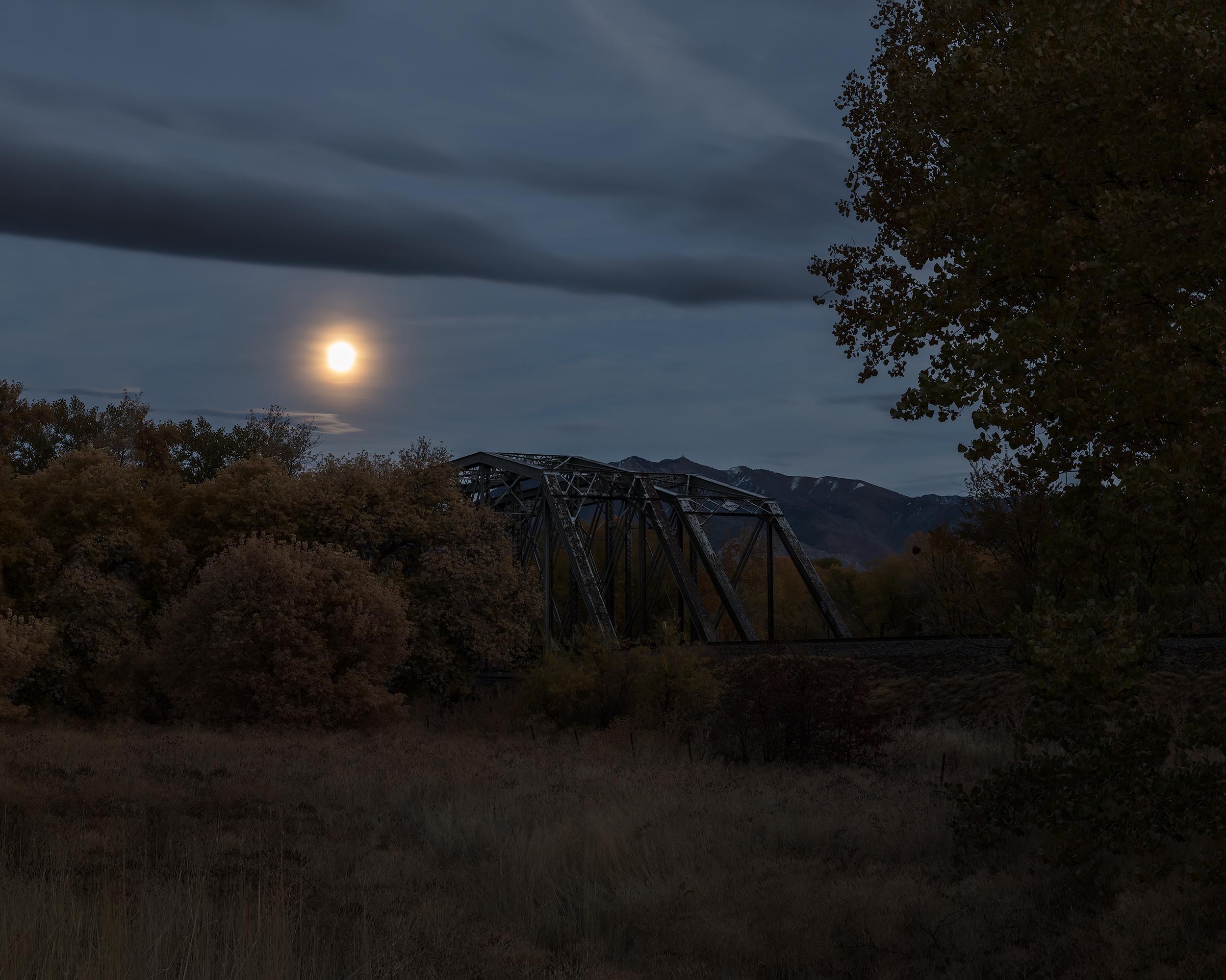 Railroad Trestle Bridge, Montana