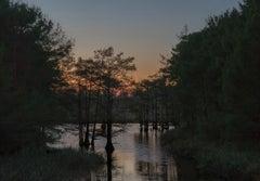 Wading Prior to Blackness. Grant Parish, Louisiana