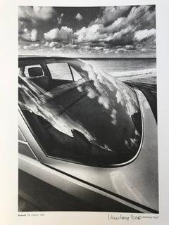 'Auto Psy, Renault 25', 1984 collotype