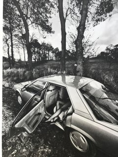 "Jeanloup Sieff 's Renault 25 ""Autopsy"" collotype . 1984. handsigned"