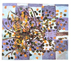 Jeanne Gentry Keck, Persimmon and Perception, Oil on Canvas, 1996