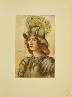 Saint Georges - Original Litopgraph - 1898