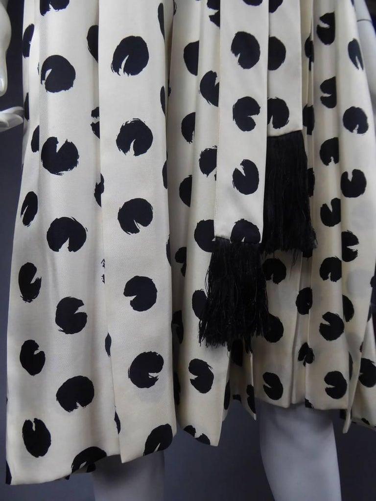 Gray Jeanne Lanvin Castillo Haute Couture For Sale