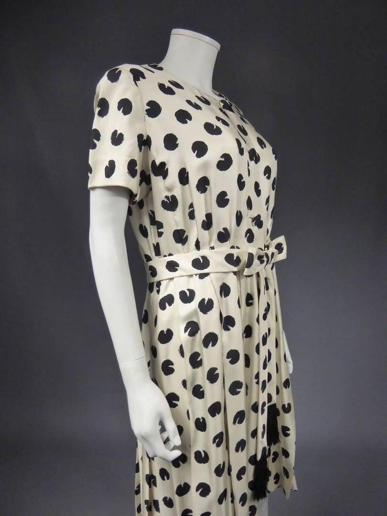 Jeanne Lanvin Castillo Haute Couture In Excellent Condition For Sale In Toulon, FR