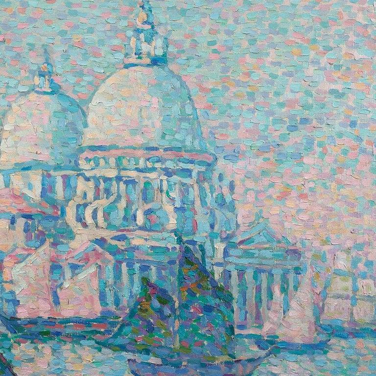 Basilica di Santa Maria della Salute - Painting by JEANNE SELMERSHEIN-DESGRANGE