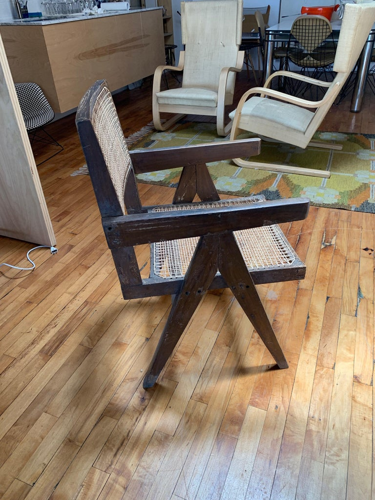Jeanneret Chair In Fair Condition In Brooklyn/Toronto, Ontario